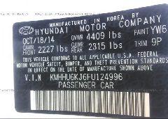 2015 HYUNDAI GENESIS COUPE - KMHHU6KJ6FU124996 engine view