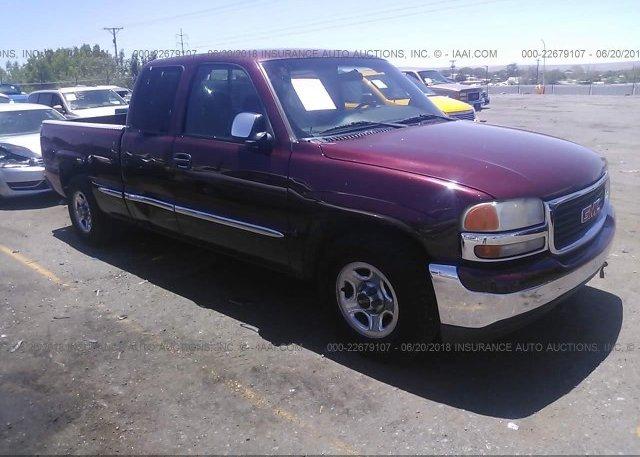 Inventory #180361738 2001 GMC NEW SIERRA