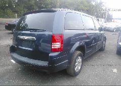 2008 Chrysler TOWN & COUNTRY - 2A8HR54P28R713134 rear view
