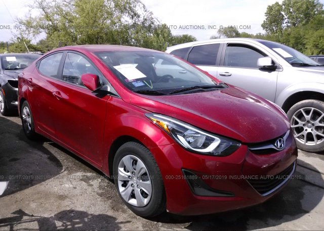 Inventory #404534206 2016 Hyundai ELANTRA