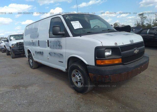 Inventory #919801248 2005 Chevrolet EXPRESS G3500