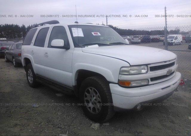 Inventory #577298140 2005 Chevrolet TAHOE