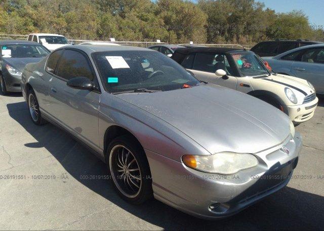 Inventory #507029356 2005 Chevrolet MONTE CARLO