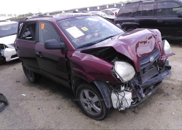 Inventory #651331036 2006 Hyundai TUCSON