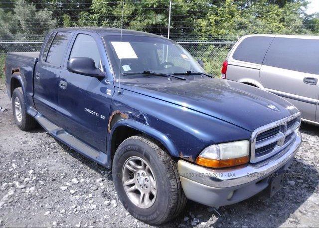 Inventory #344552341 2002 Dodge DAKOTA