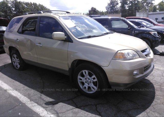 HNYDXH Salvage Gold Acura Mdx At LAKE CITY GA On Online - 2004 acura mdx rims