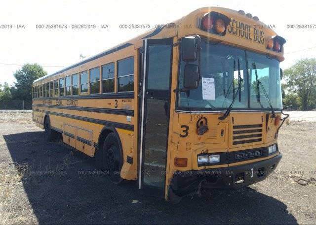 Inventory #664890036 2005 BLUE BIRD SCHOOL BUS / TRANSIT BUS