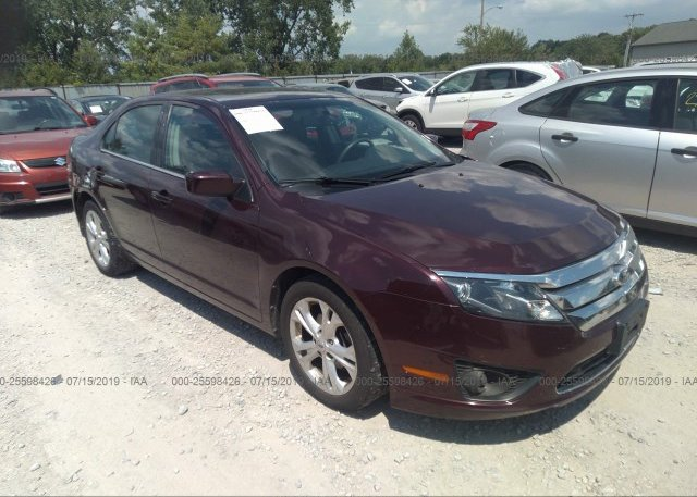 Inventory #230878585 2012 FORD FUSION