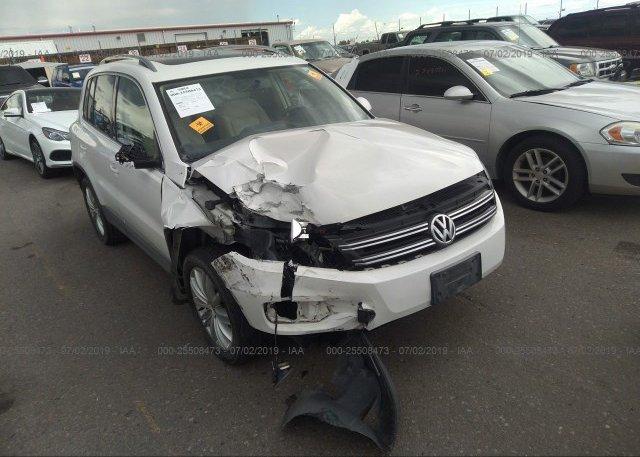 Inventory #705988239 2012 Volkswagen TIGUAN