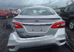 2019 NISSAN SENTRA - 3N1AB7AP3KY222076 front view