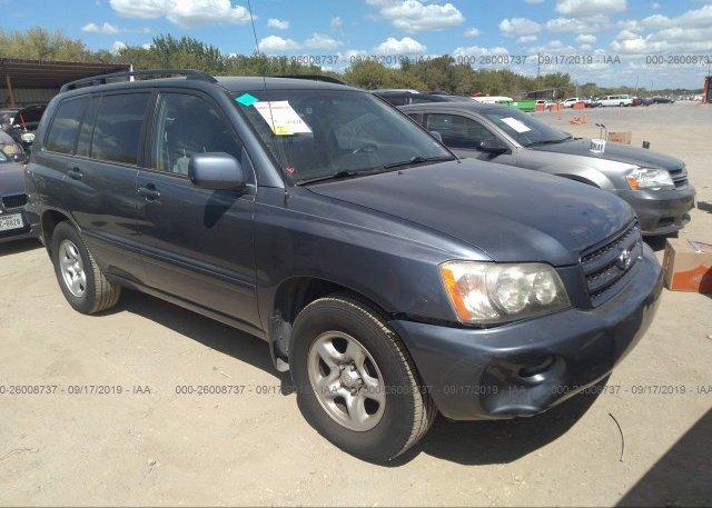 Inventory #436394898 2003 Toyota HIGHLANDER