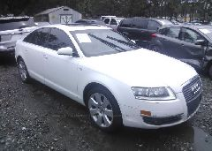 2007 AUDI A6 - WAUAH74F97N157752 Left View