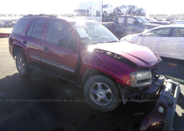 Inventory #777238894 2002 Chevrolet TRAILBLAZER