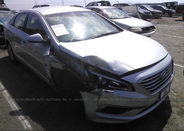 Inventory #408076118 2016 Hyundai SONATA