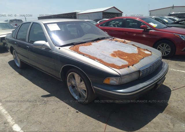1G1BL52P0TR193153, Clear gray Chevrolet Caprice / Impala at