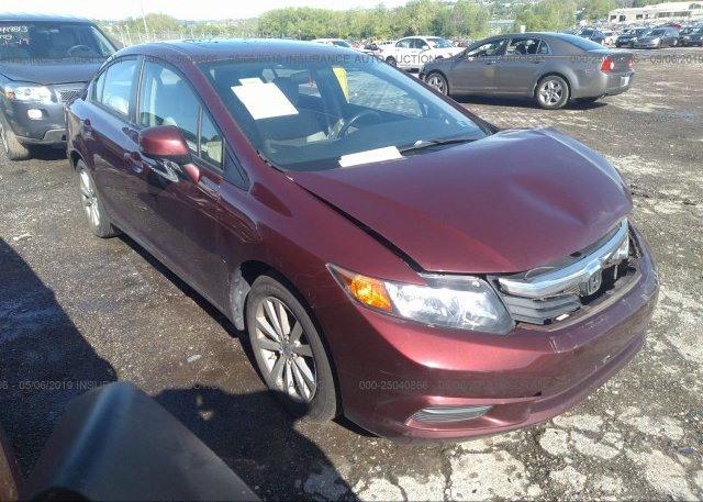 Inventory #588934262 2012 Honda CIVIC