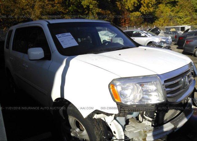 Inventory #708494615 2012 HONDA PILOT