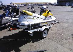 2003 POLARIS PERSONAL WATERCRAFT - PLE23271K203 rear view