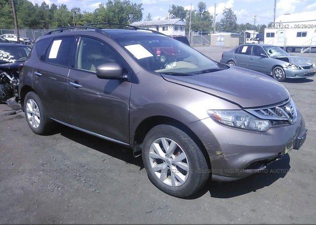 Inventory #641732226 2012 Nissan MURANO
