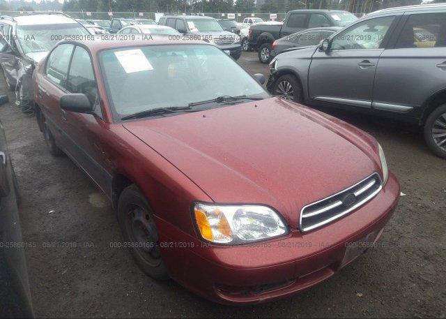Inventory #638010238 2002 Subaru LEGACY