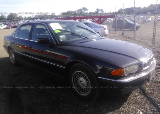 Inventory #734185414 2000 BMW 740