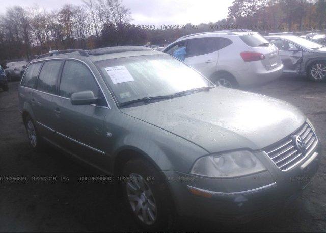 Inventory #502574329 2003 Volkswagen PASSAT