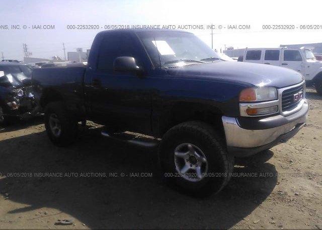 Inventory #275255634 2000 GMC NEW SIERRA