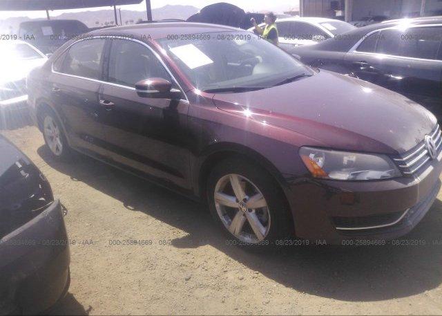 Inventory #396430255 2014 Volkswagen PASSAT