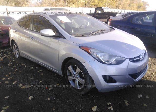 Inventory #715369631 2011 Hyundai ELANTRA