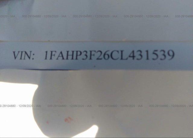 1FAHP3F26CL431539 2012 FORD FOCUS