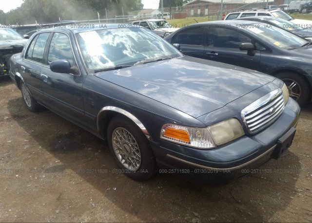 Inventory #393934502 1998 FORD CROWN VICTORIA