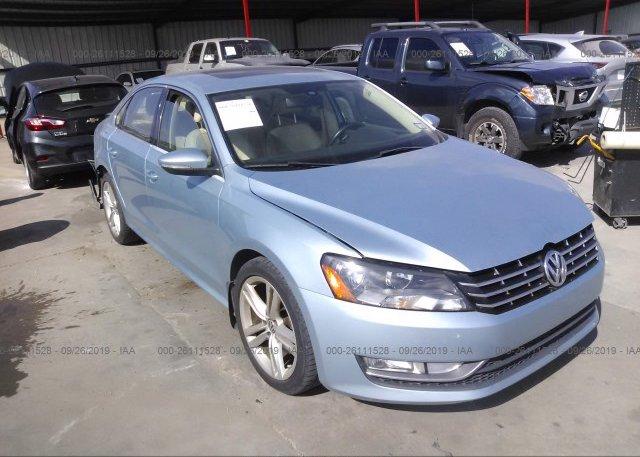 Inventory #129958228 2012 Volkswagen PASSAT