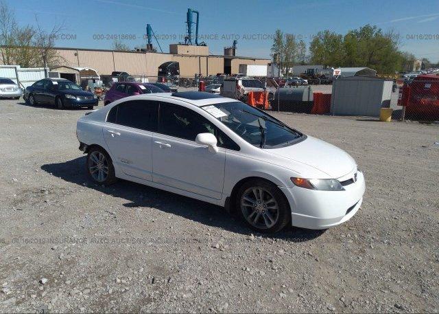 Honda Bowling Green Ky >> 2hgfa55518h705682 Salvage White Honda Civic At Bowling