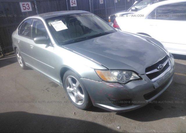 Inventory #759973046 2009 Subaru LEGACY