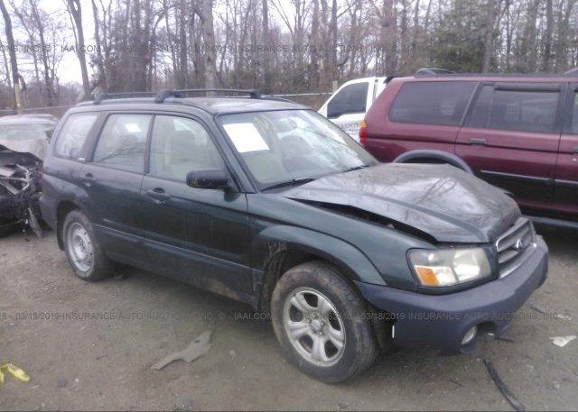 Inventory #465566093 2004 Subaru FORESTER