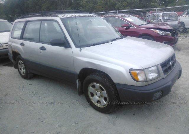 Inventory #668112707 2000 Subaru FORESTER