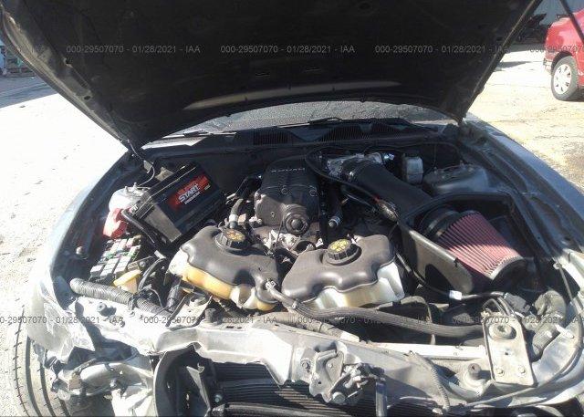 1ZVBP8CF4B5157603 2011 FORD MUSTANG