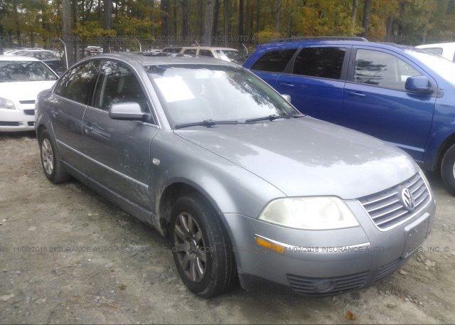 Inventory #795924218 2003 Volkswagen PASSAT