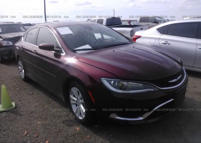 Inventory #494422448 2015 Chrysler 200