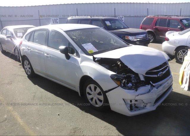 Inventory #187572624 2016 Subaru IMPREZA