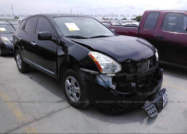 Jn8as5mt3dw548016 Salvage Title Black Nissan Rogue At San Antonio