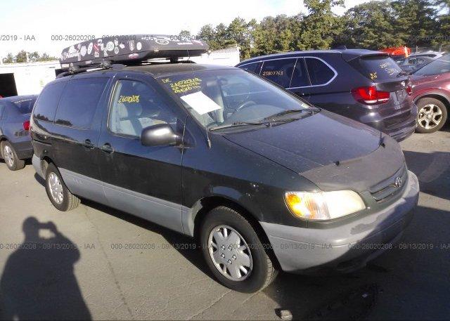 Inventory #568570783 2001 Toyota SIENNA