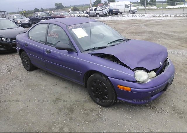 Inventory #730247554 1999 Plymouth NEON
