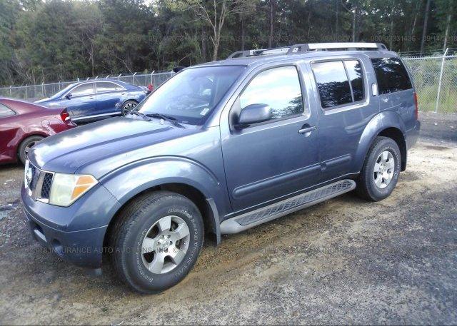 5n1ar18u55c738465 Clear Dark Blue Nissan Pathfinder At Byram Ms On