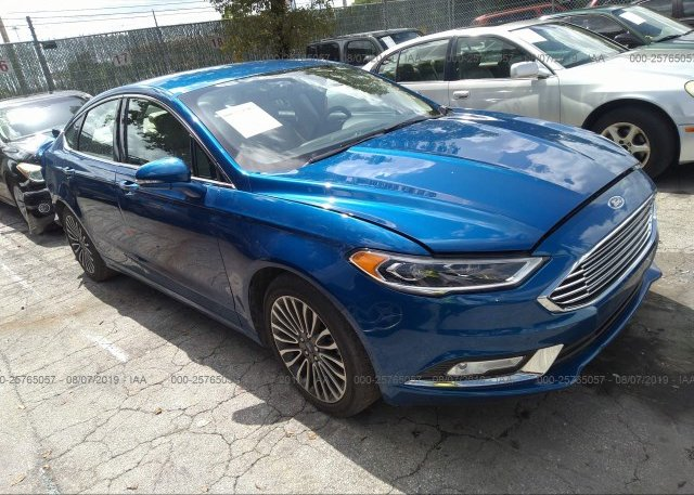 Inventory #893957076 2017 FORD FUSION