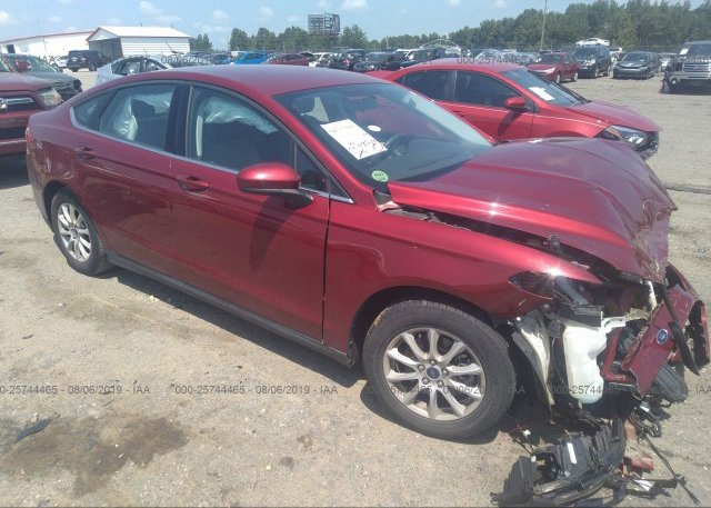 Inventory #613112160 2016 FORD FUSION