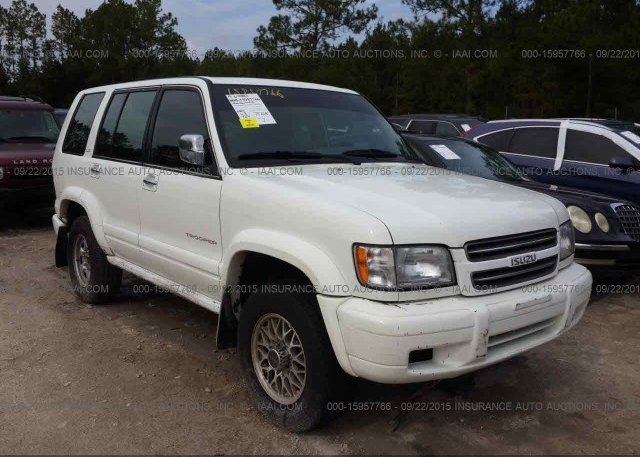 Jacds58x627j00431 Rebuildable White Isuzu Trooper At Jacksonville