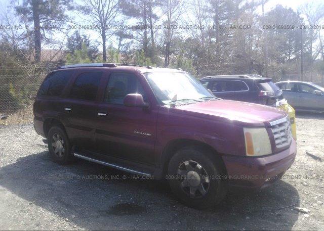 Inventory #232417575 2004 Cadillac ESCALADE