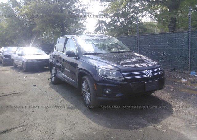 Inventory #332755024 2012 Volkswagen TIGUAN