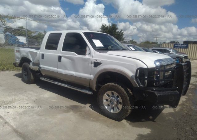 2009 Ford F250 >> 1ftsw21r59ea49064 Rebuildable White Ford F250 At Orlando